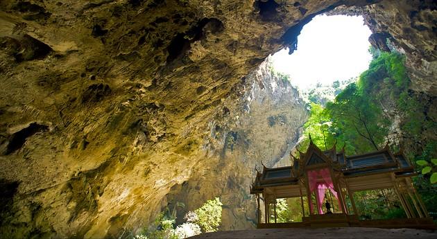 Phraya Nakhon Cave With The Kuha Karuhas Pavillon In