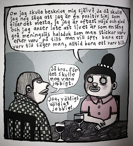 flickvän dålig andedräkt Falkenberg