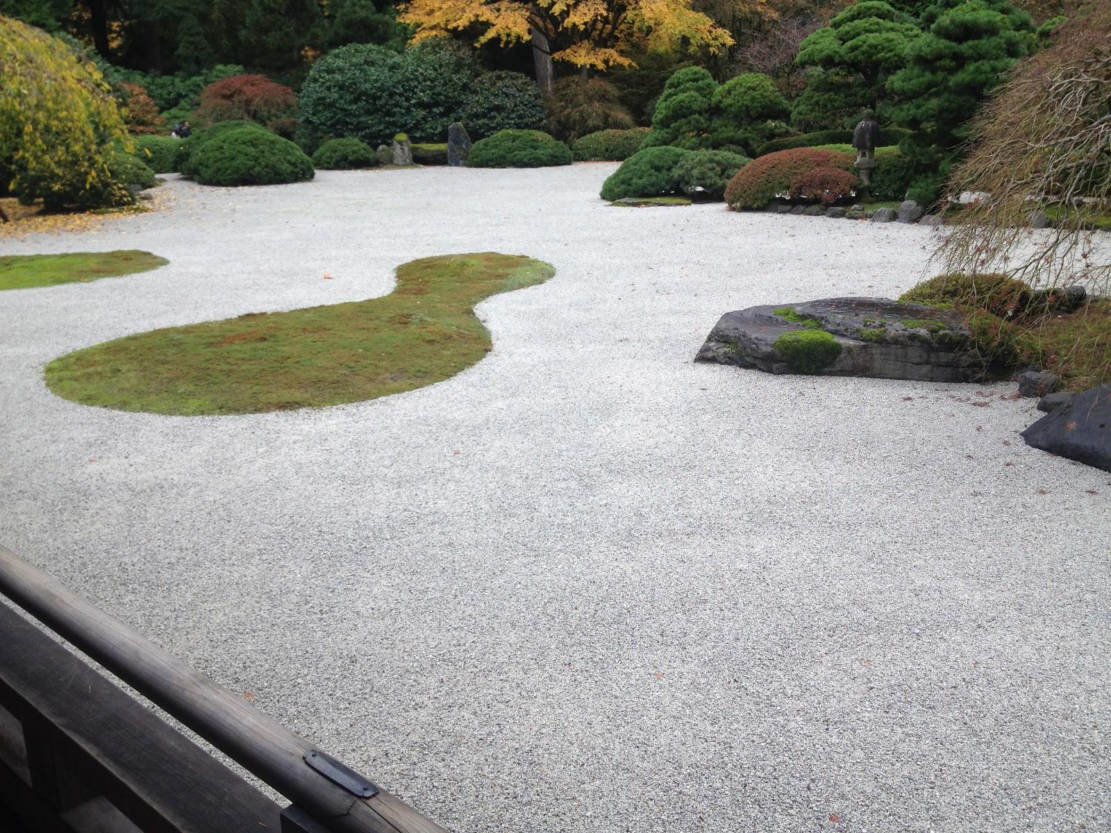 Japanese garden brandy in portland for Japanese sand garden