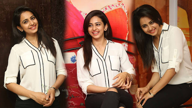 Rakul Preet Singh Latest Images At Kick 2 Movie Success Meet