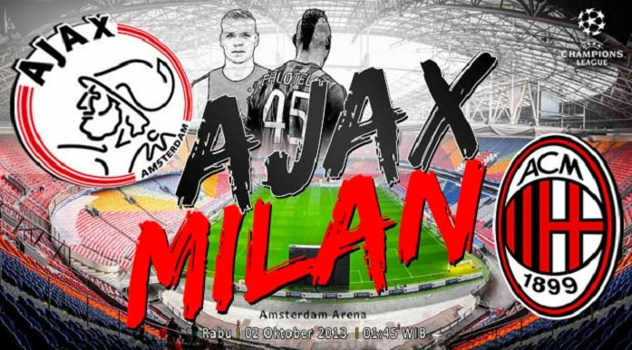 Ajax vs AC Milan Champions League