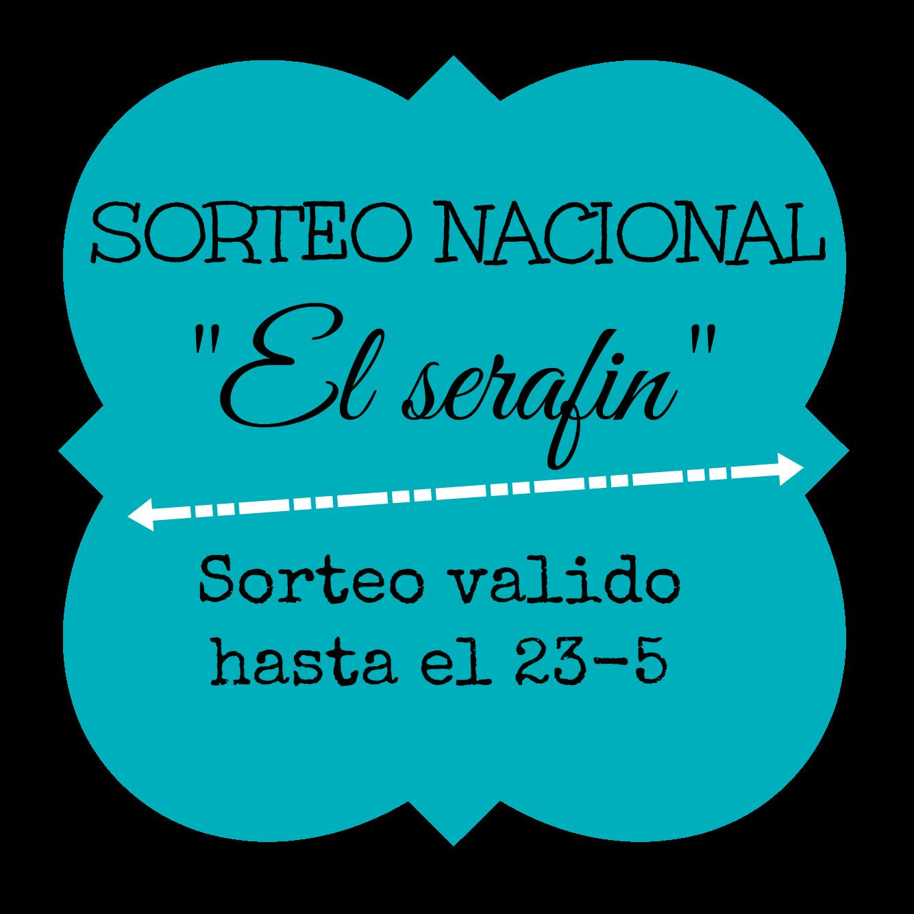 """Sorteo!! """"El serafín"""""""