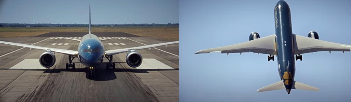 Απίστευτη πτήση με Boeing 787-9 Dreamliner να απογειώνεται σχεδόν κάθετα!
