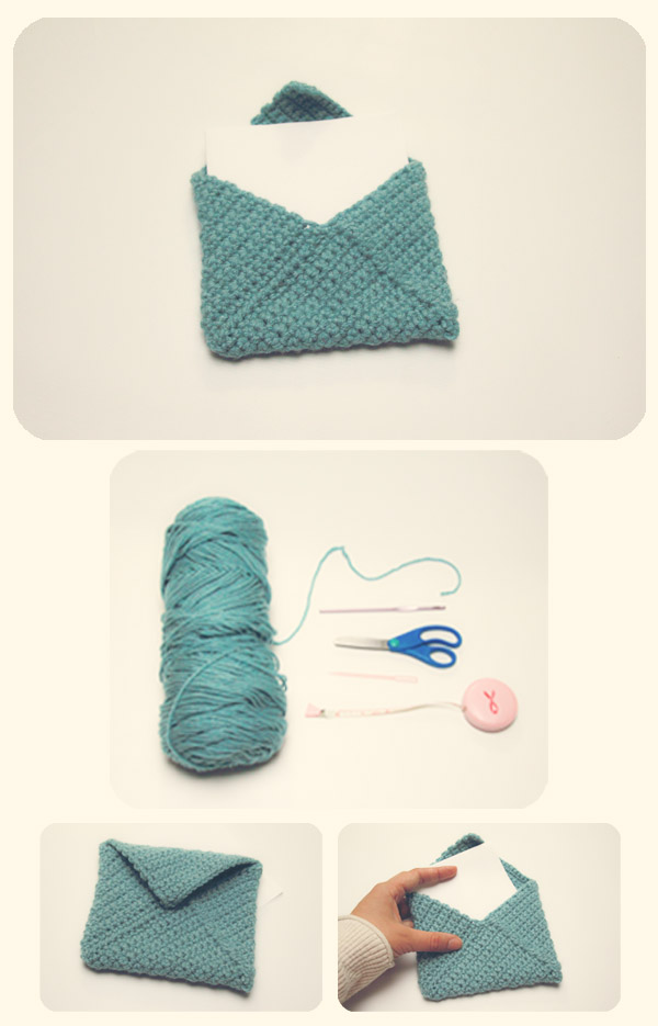 Free Pattern For Crochet Envelope Purse Dancox For