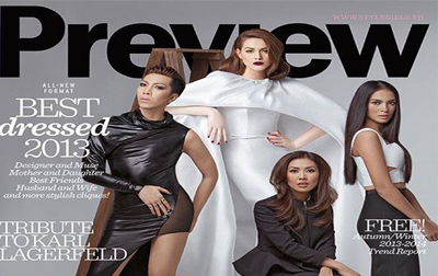 fashion editor and stylist liz uy will grace the cover of preview