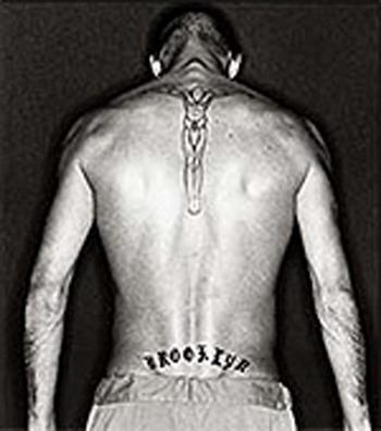 Celebrity tattoo images david beckham tattoo for Beckham tattoo back