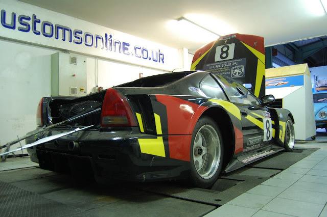Honda Prelude Cosworth, Thunder Saloon, samochody wyścigowe