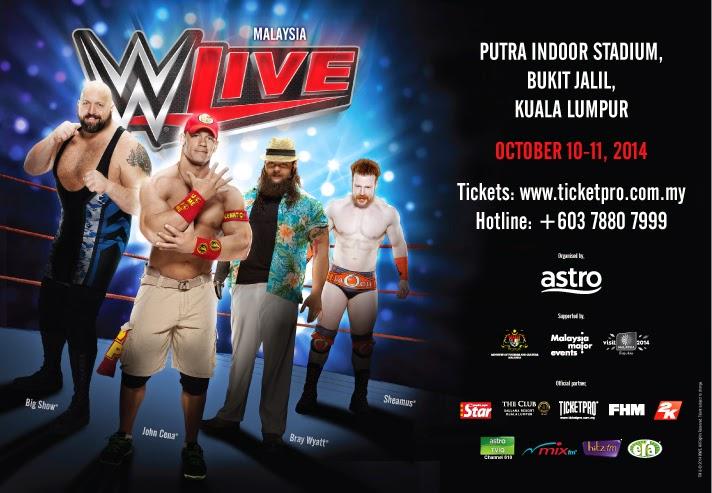WWE Live Malaysia 2014