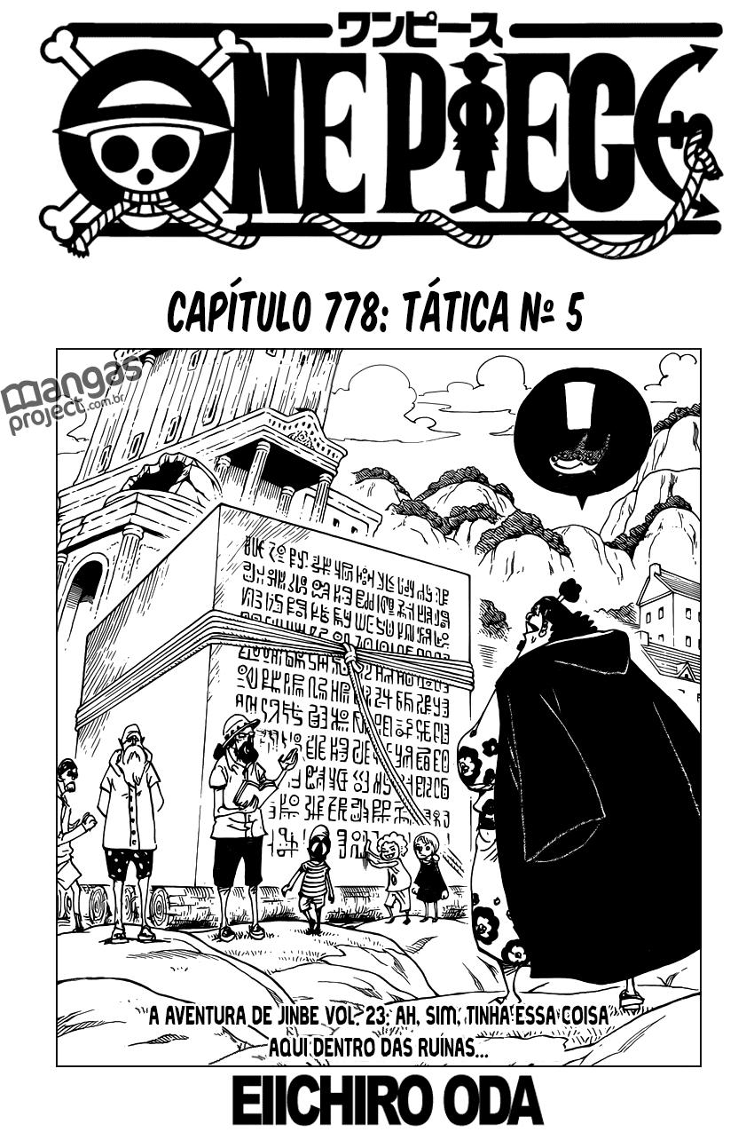 One Piece 778 Mangá Português leitura online