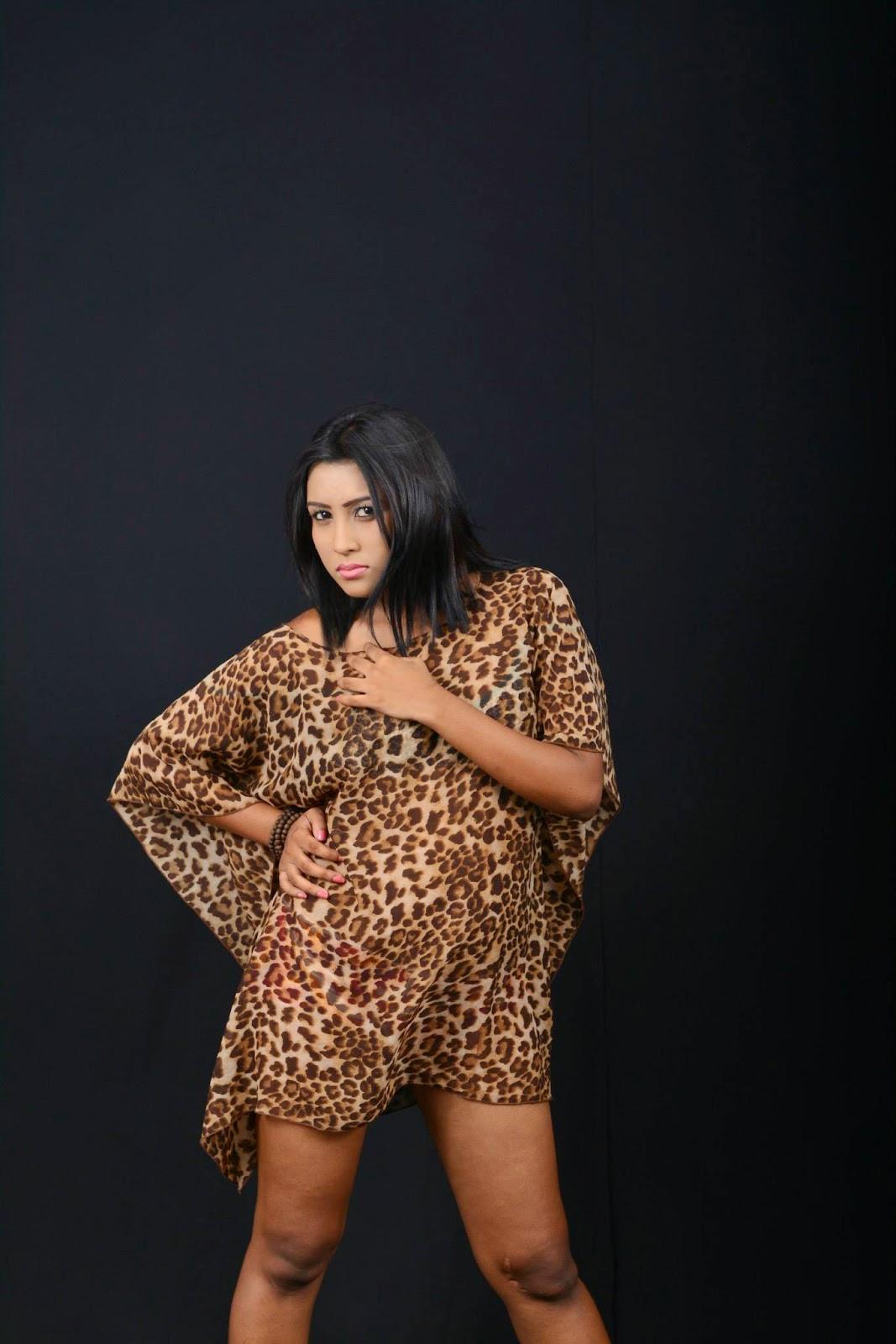 Sri Lankan popular model Sachi Wickramasinghe