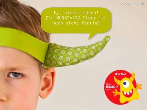 zweimalB :: SneakPeek auf Monstazzz - Story inspiriert von www.april-kind.de