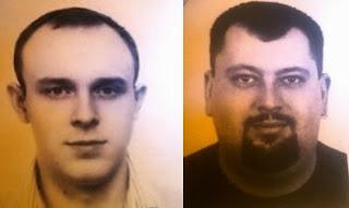 Главари мошенников - Герцев (слева) и Неижмаков