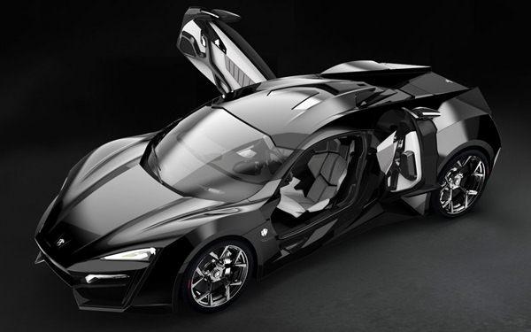 Mobil Termahal Di Dunia W Motors Lykan Hypersport