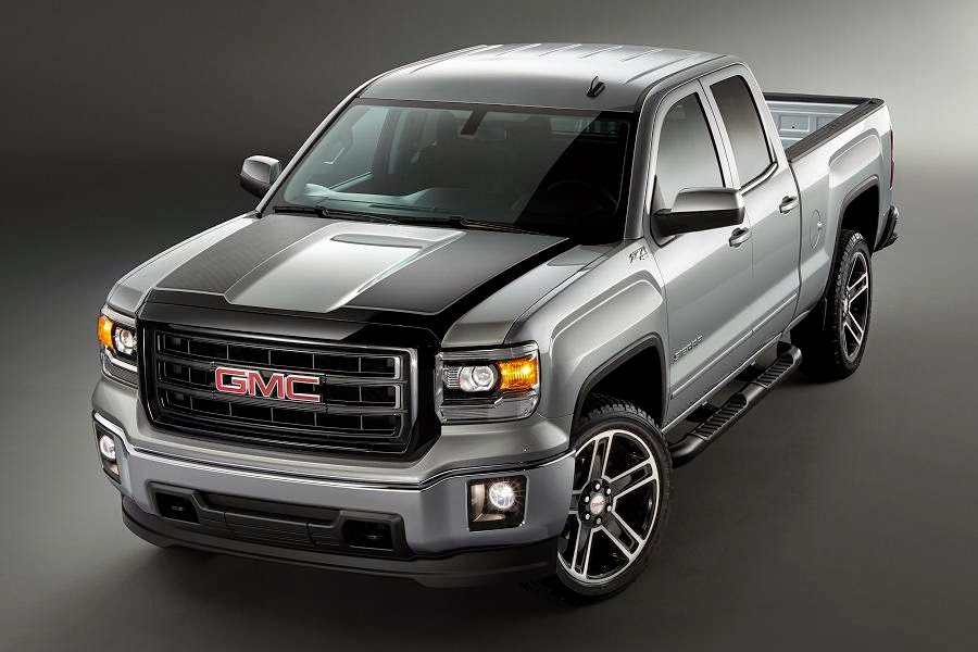 GMC Sierra 1500 Carbon Edition Double Cab (2015) Front Side