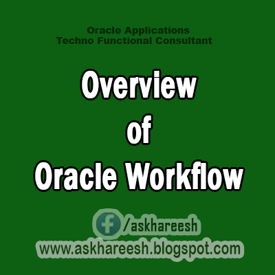 Overview of Oracle Workflow,AskHareesh Blog for OracleApps