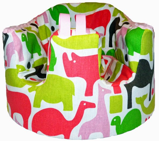 Pink Zoo Bumbo seat cover