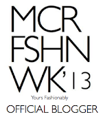 Official Fashion Blogger for #MCRW13