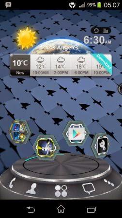 Next Launcher 3D Shell Terbaru