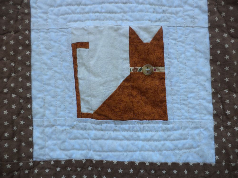 image regarding Free Printable Cat Quilt Patterns referred to as Cost-free, Printable Quilt Practices