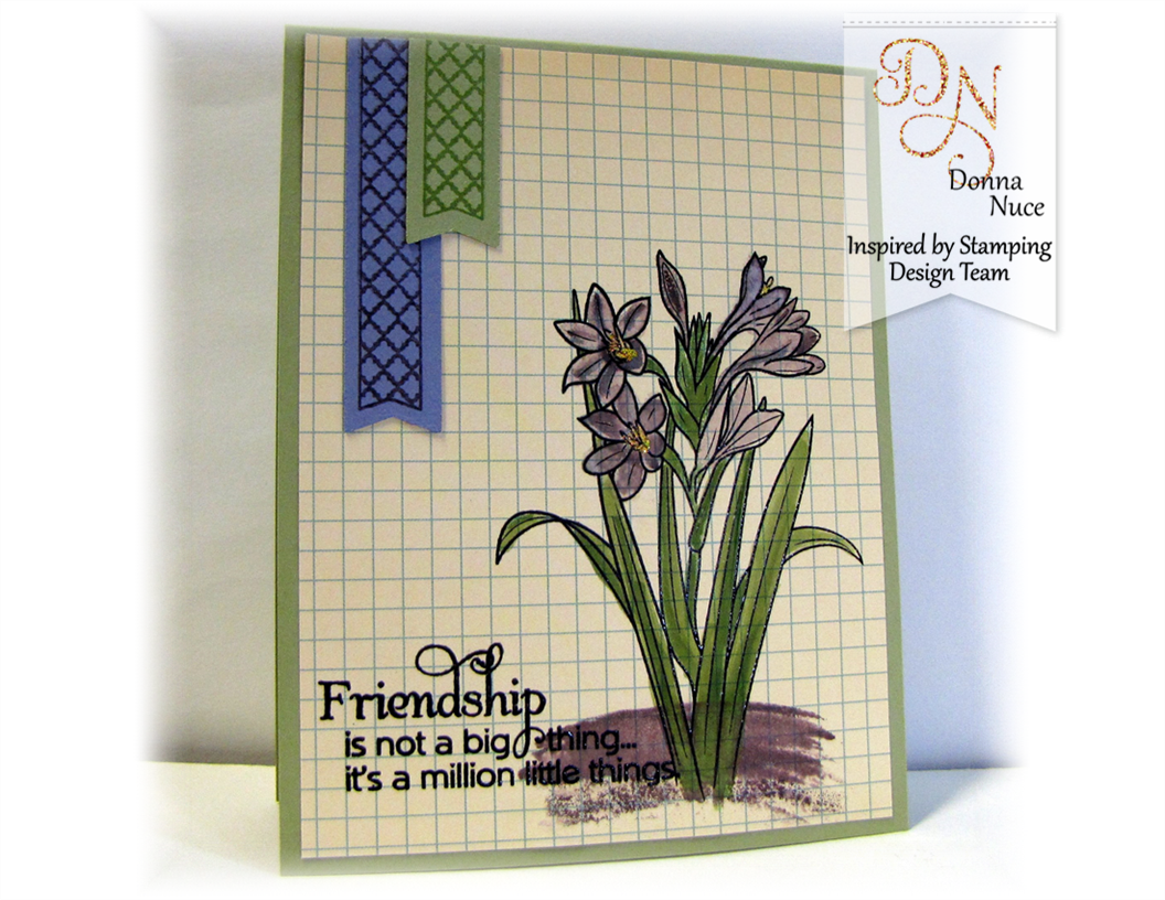 Inspried by Stamping, Crafty Colonel, Friends Forever, Friendship card