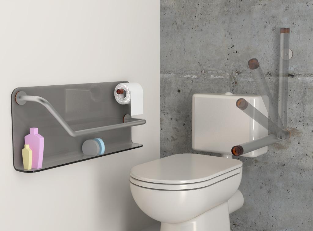 Puertas De Baño Para Discapacitados:Equipamiento de baño para discapacitados