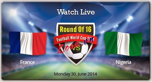 France , Nigeria , Round 16