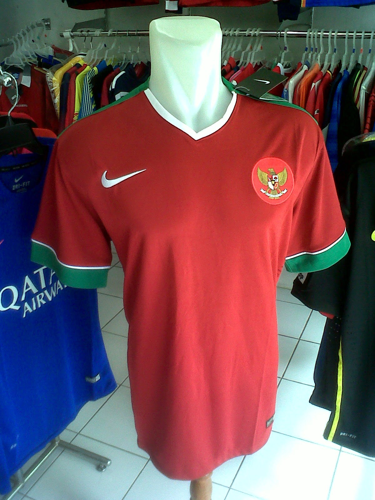 Jersey Timnas Indonesia Home AFF 2014