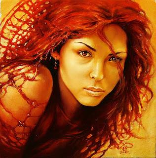Rostros Femeninos Pintura