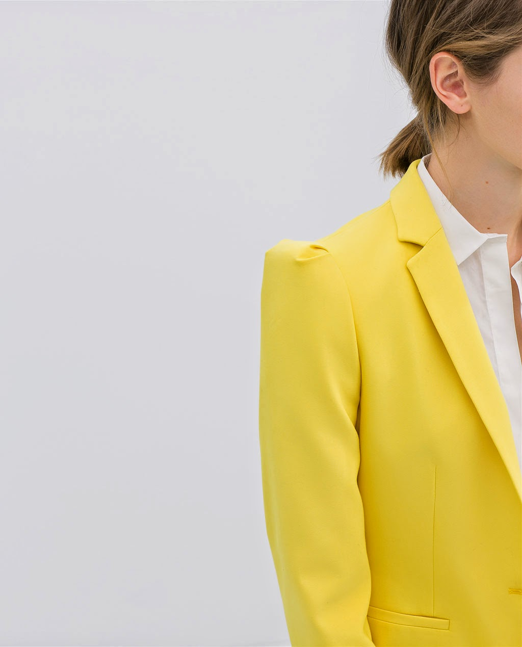 yellow jacket, zara