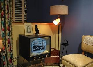 salón americano en los años 50