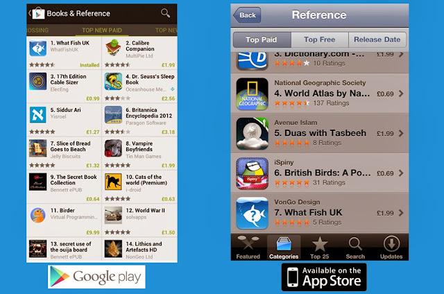 uk fish recognition app