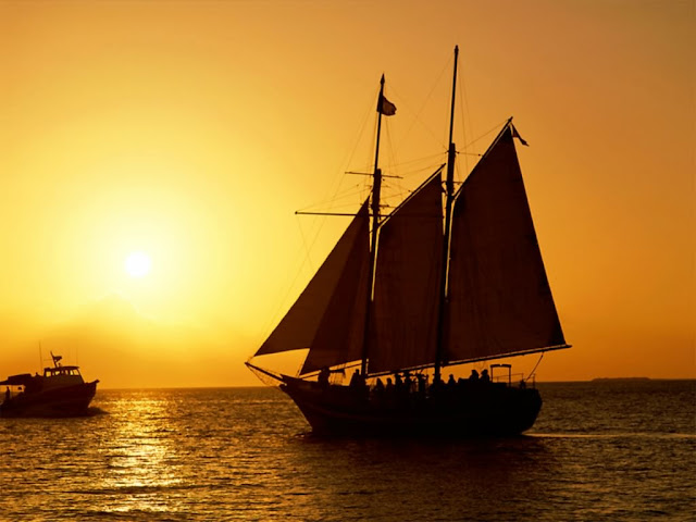 Hoàng hôn trên biển, anh hoang hon dep nhat, chieu hoang hon