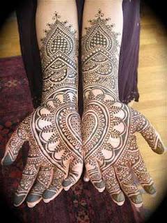 Arabic Henna Designs For Karwa Chauth