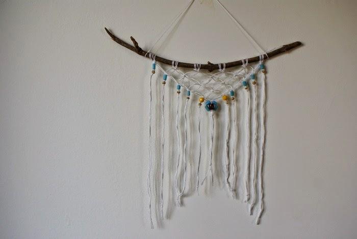 bohemian hanging macrame diy