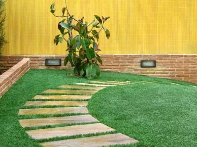 Casa bricolage decora o e artesanato seu jardim for Colocar baldosas sobre hormigon