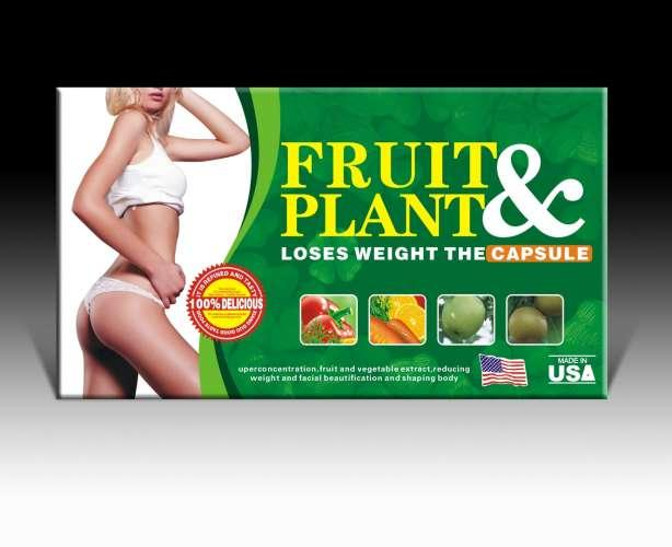 fruit plant slimming capsule herbal made usa grosir