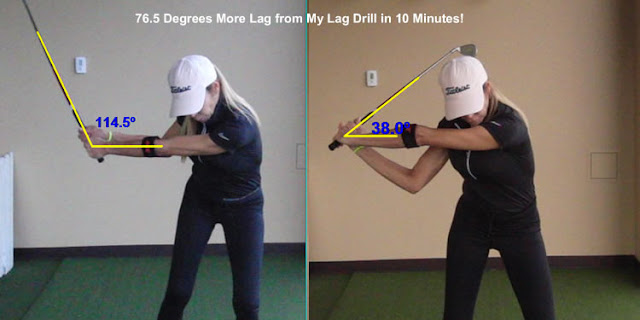 golf lag swing