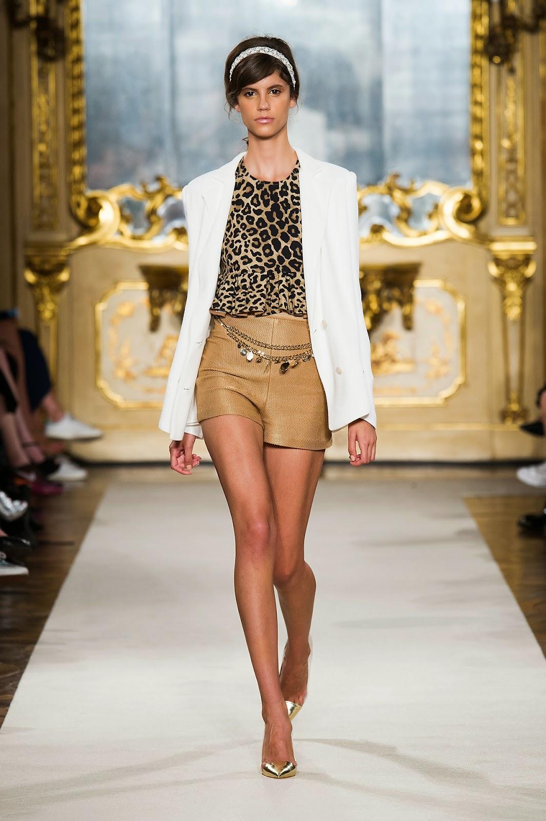 Elisabetta Franchi -  Colecção primavera-verão blusas