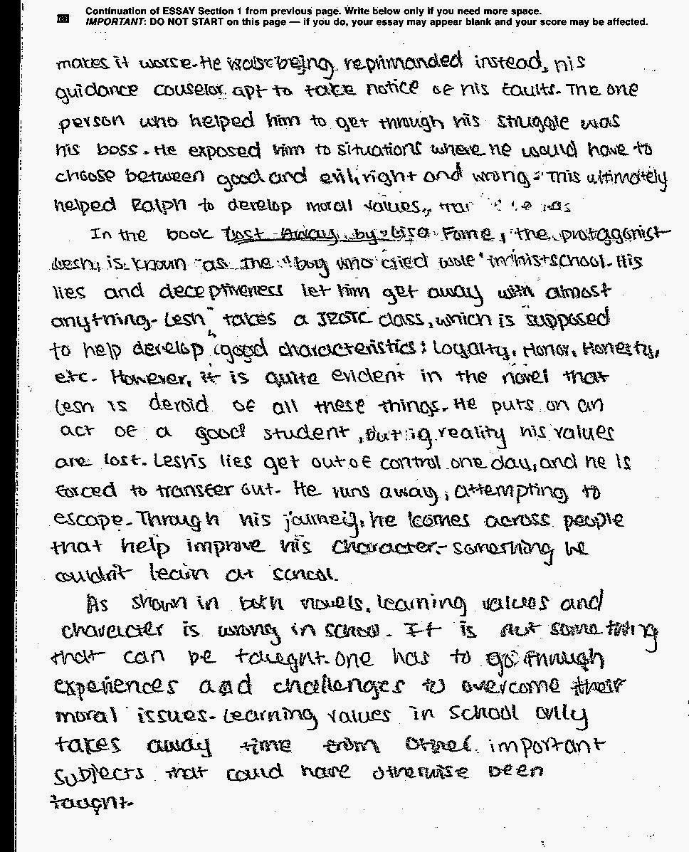 Essay on Failure