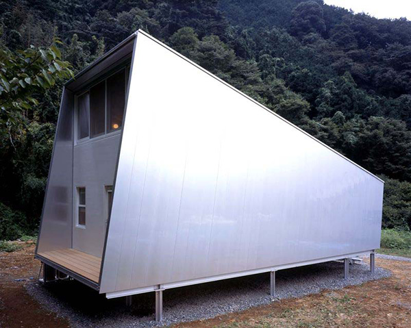 LOVE JAPAN HOUSE DESINGs!!: Small Home Design Ideas - metal clad house ...