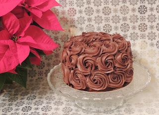 Ombre cake. Tarta de chocolate y frambuesa