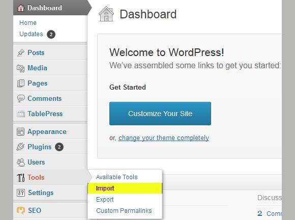 import-blogger-blog-to-wordpress