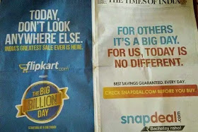 Flipkart big billion flop day