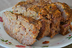 B &amp; T Meatloaf.... ( Bacon and Tomato)