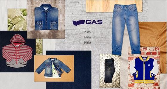 oferta moda niños gas