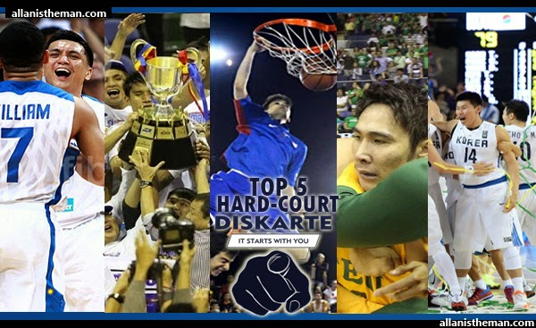 Are You MAN of #DISKARTE Just like your Hard-Court IDOL?