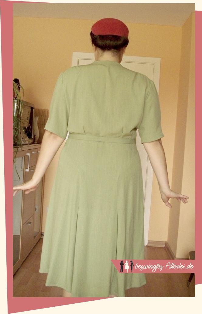 50er Jahre, Kleid, Tanzkleid, Kleidung, Swing, Tanzen, Nähen, Berlins Modenblatt, 1958, Vintage, Große Größen
