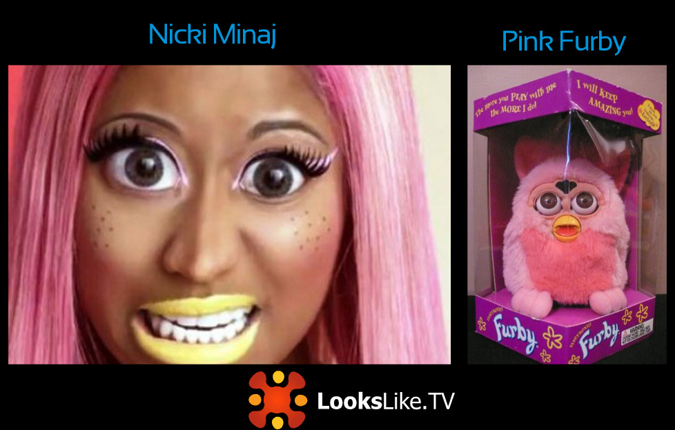 Lookslike Tv Nicki Minaj Looks Like Pink Furby