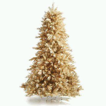 Arboles de navidad dorados for Arbol de navidad dorado