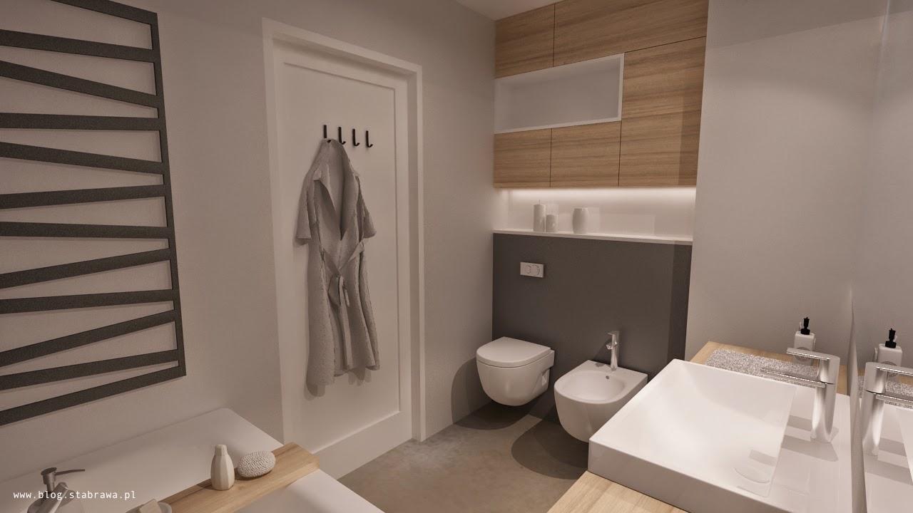 łazienka nowoczesna, żywica